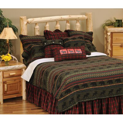 McWoods I 4 Piece Coverlet Set Size: King