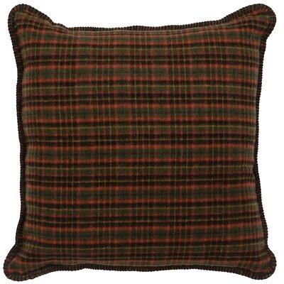 Moose Wool Throw Pillow