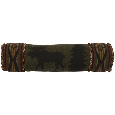 Moose Bolster Pillow