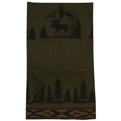 Moose Wool Throw