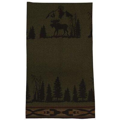 Moose Wool Throw