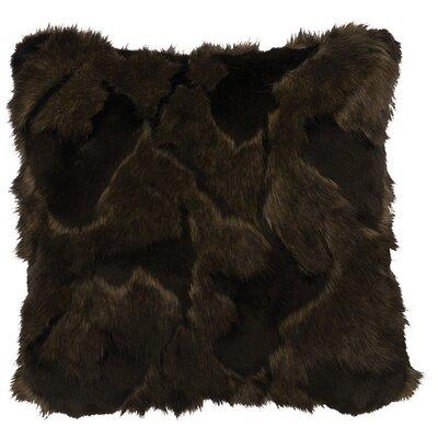 Faux Fur Throw Pillow