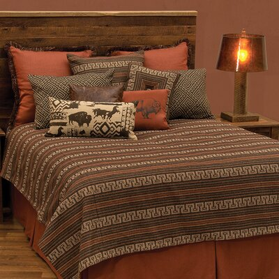Monument II Basic Coverlet Set Size: Queen