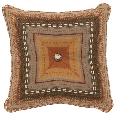 Adobe Sunrise Throw Pillow