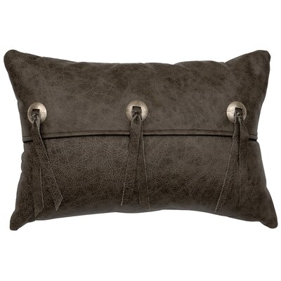 Adobe Sunrise Back Leather Lumbar Pillow