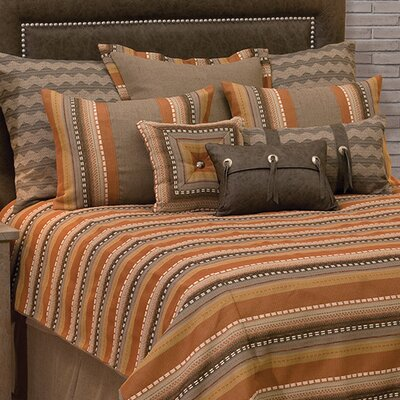 Adobe Sunrise Reversible Duvet Set Size: California King