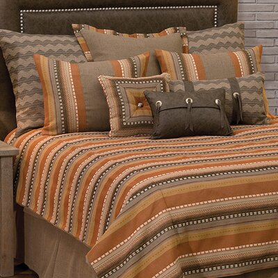 Adobe Sunrise 7 Piece Reversible Duvet Set Size: Super King