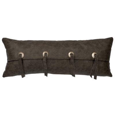 Murillo Leather Lumbar Pillow