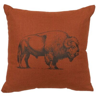 Buffalo Linen Throw Pillow