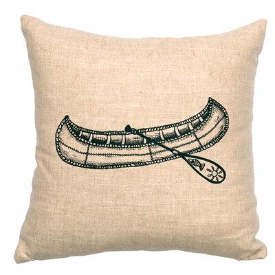 Canoe LinenThrow Pillow