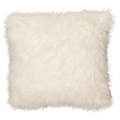 Topsfield Llama Snow Fur Euro Sham