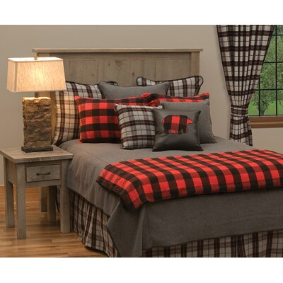 Shea 7 Piece Coverlet Set Size: King