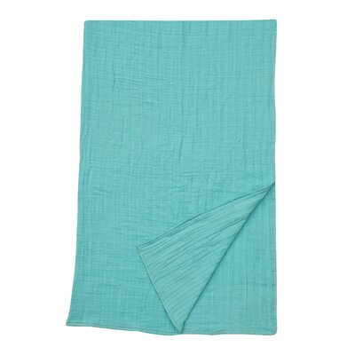 Jayson 100% Cotton Throw Color: Silver