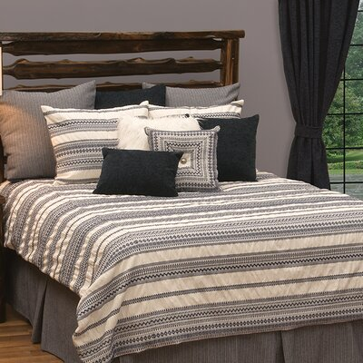 Graves Reversible Duvet Set Size: Super Queen