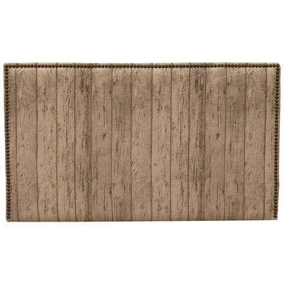 Tanner Plank Wood Panel Headboard Size: California King