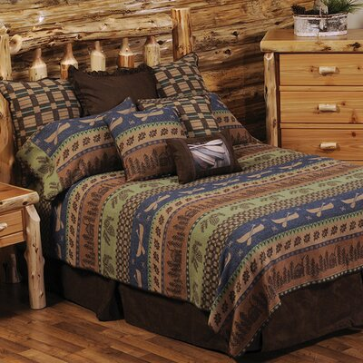 Lake Shore 7 Piece Coverlet Set Size: Queen
