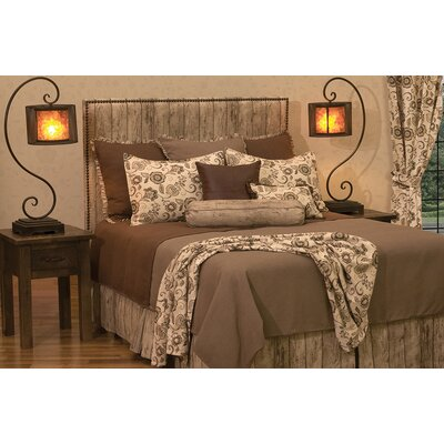 Livio Deluxe 6 Piece Duvet Cover Set Size: California King