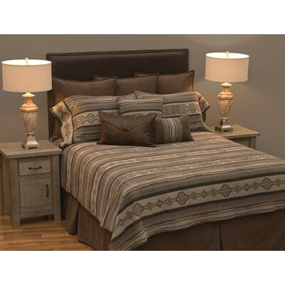 Silas Basic Quilt/Coverlet Set Size: California King