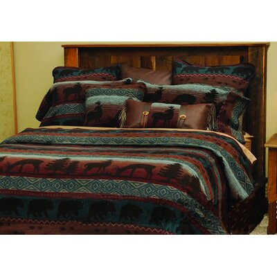 Deer Coverlet Size: King