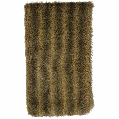 Bandera Raccoon Faux Fur Throw