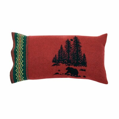 Wooded River Bear Sham Size: Euro