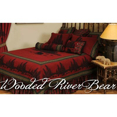 Wooded River Bear Coverlet Collection
