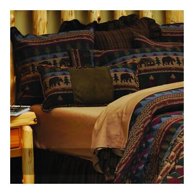 Cabin Bear Coverlet Collection