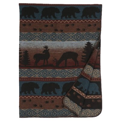 Deer Meadow Wool Throw