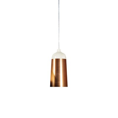 Glaze 1-Light LED Mini Pendent Size: 11.8 H x 5.5 W x 5.5 D