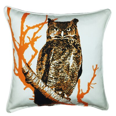 Halloween Owl Indoor/Outdoor Throw Pillow