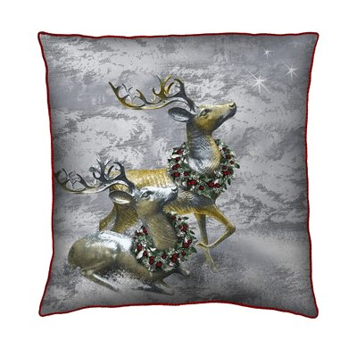 Holiday Elegancev Throw Pillow