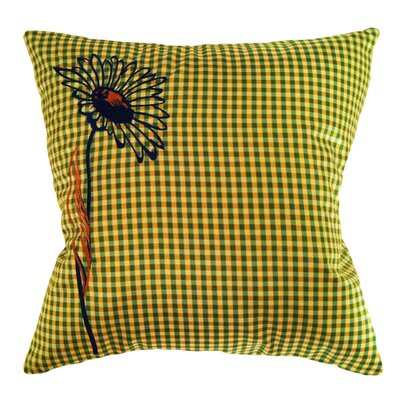 Pillow Prep Throw Pillow Color: Green