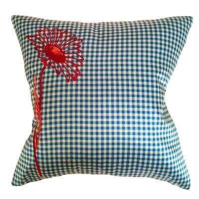 Pillow Prep Throw Pillow Color: Sky