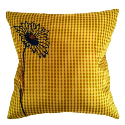 Pillow Prep Throw Pillow Color: Gold