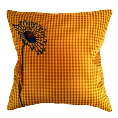 Pillow Prep Throw Pillow Color: Orange