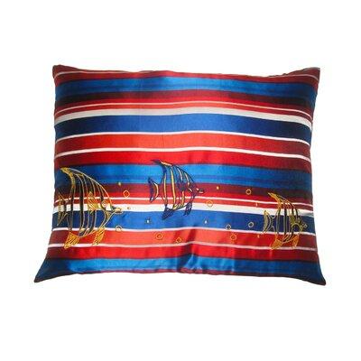 Pillow Prep Lumbar Pillow Color: Indigo