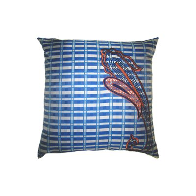 Pillow Prep Throw Pillow Color: Indigo