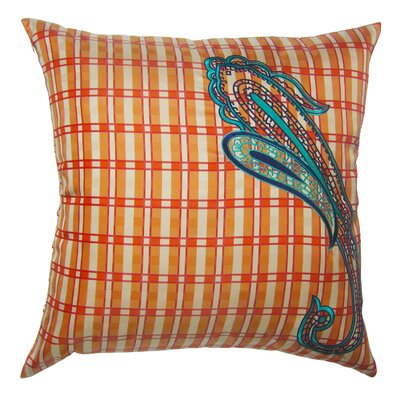 Pillow Prep Throw Pillow Color: Coral