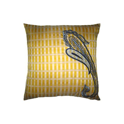 Pillow Prep Throw Pillow Color: Yellow