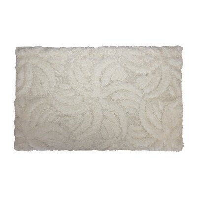 Star Light Bath Rug Color: Ivory