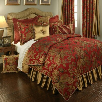 Verona 4 Piece Comforter Set Size: California King