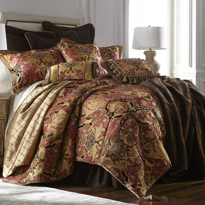 Ashley 4 Piece Comforter Set Size: King