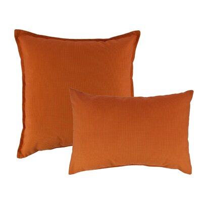 2 Piece Canvas Combo Outdoor Pillow Set