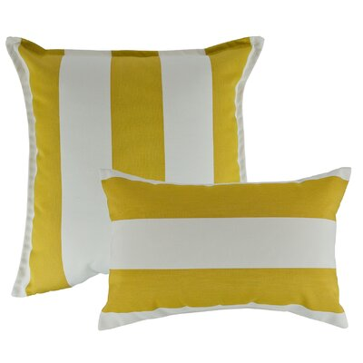 2 Piece Cabana Combo Outdoor Pillow Set