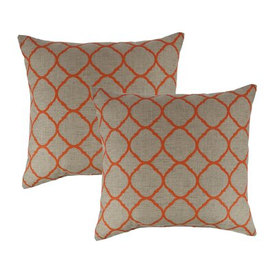 Accord Koi Outdoor Throw Pillow