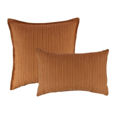 2 Piece Dupione Combo Outdoor Pillow Set