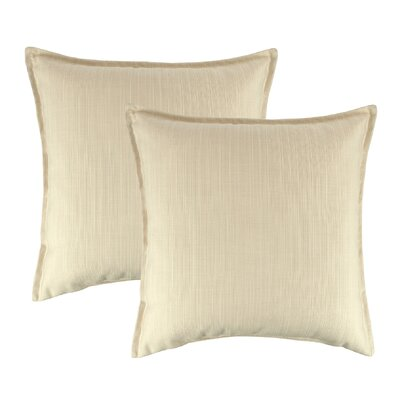 Dupione Outdoor Throw Pillow