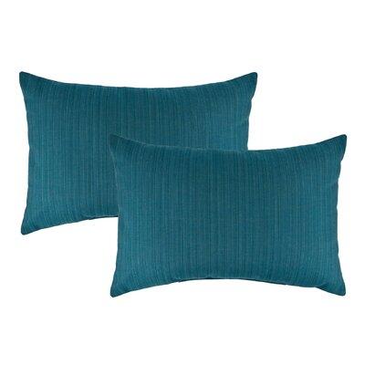 Dupione Outdoor Lumbar Pillow