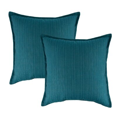 Dupione Outdoor Sunbrella Throw Pillow