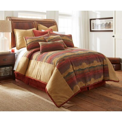 Desert Sunset 3 Piece Comforter Set Size: California King
